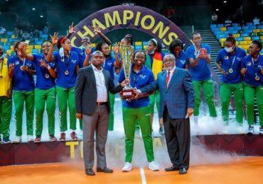 Volleyball : Les lionnes indomptables sacrées vainqueurs <br>